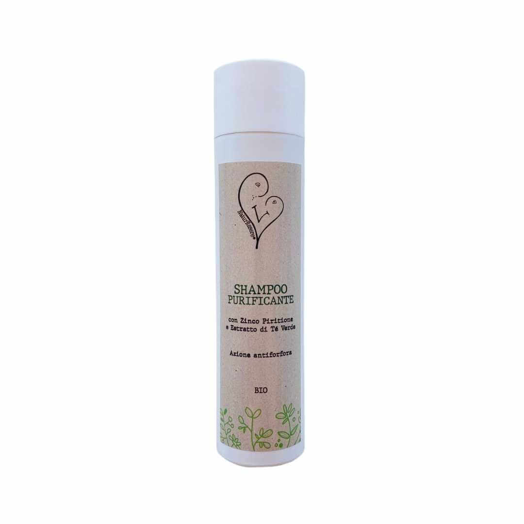 Shampoo purificante anti forfora biologico